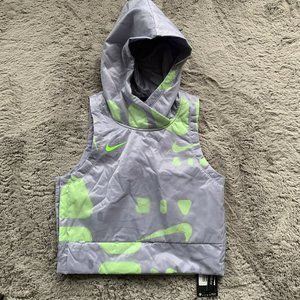 Nike Air Hooded Cropped Running Vest
